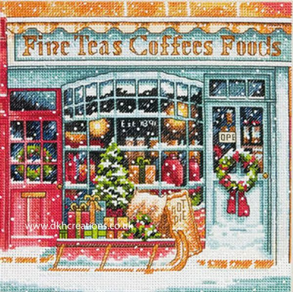 Coffee Shoppe Cross Stitch Kit